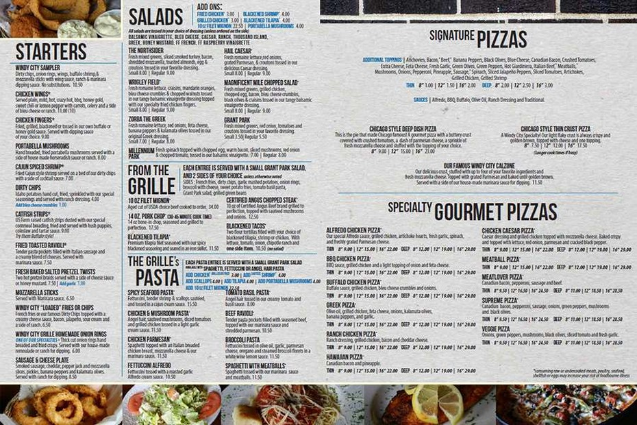 Hernando Menu Back